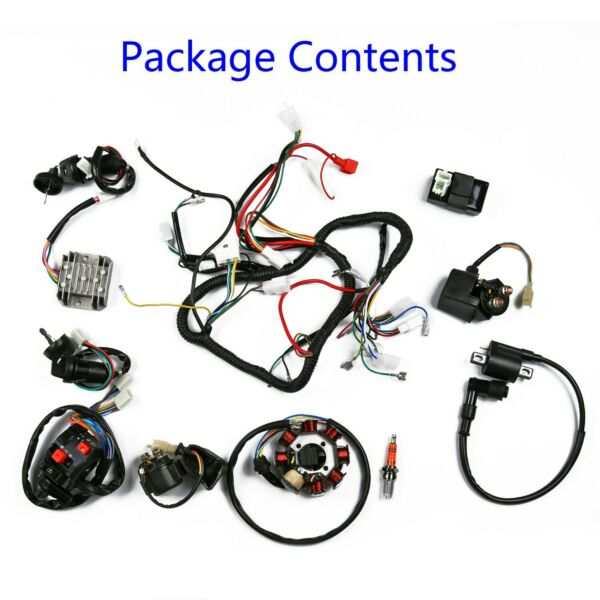Wiring harness Electrics Wiring Harness Stator Parts Durable Accessory $77.78