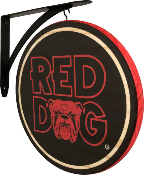 Red Dog 2 Sided Pub Sign $55.99