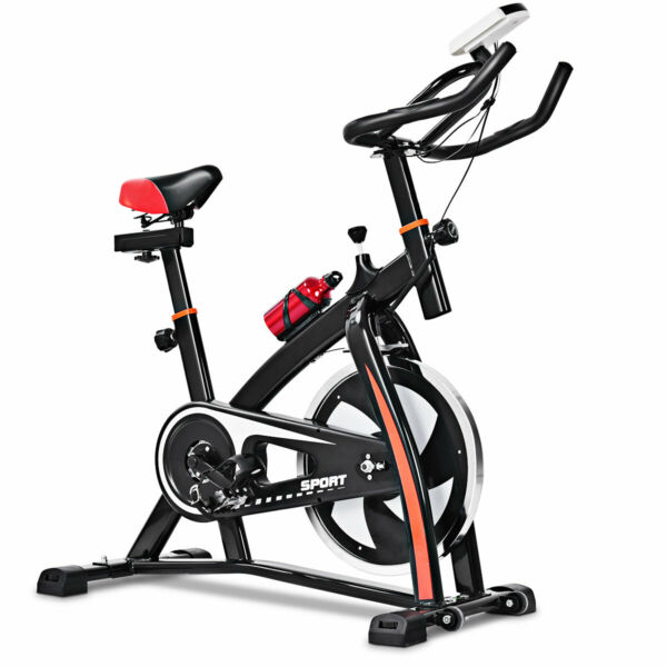 Exercise Bicycle Indoor Bike Cycling Cardio Adjustable Gym Workout Fitness Home $189.49