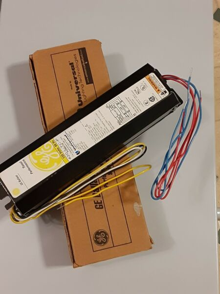 NEW General Electric 120V Magnetic Ballast for two 4 ft F40T12 $12.75