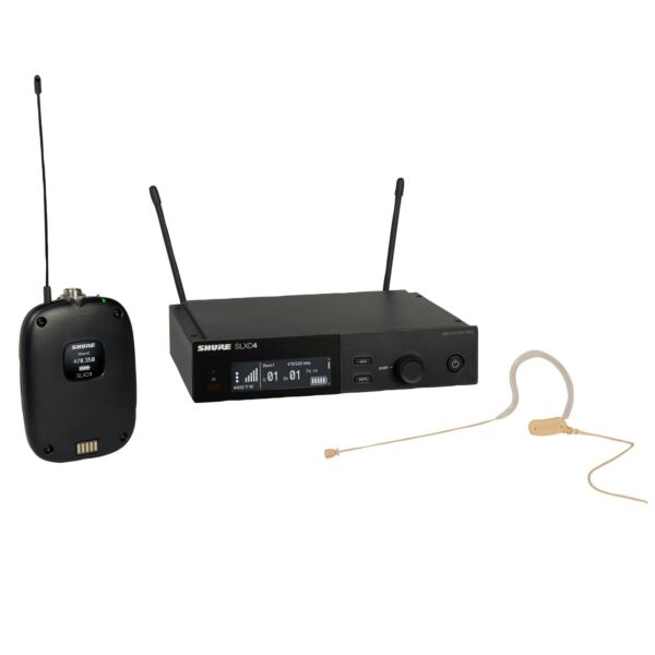 Shure SLXD14 153T Wireless System with MX153T Headworn Mic H55 Band $859.00