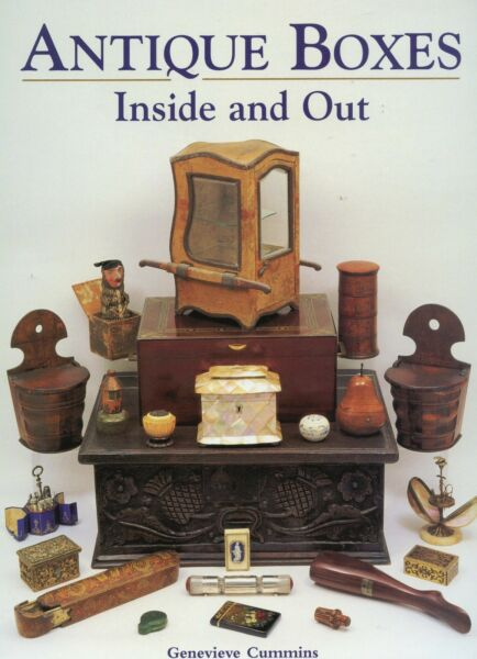 Antique Box Types 2000 Items Pictured Identified In Depth Illustrated Book