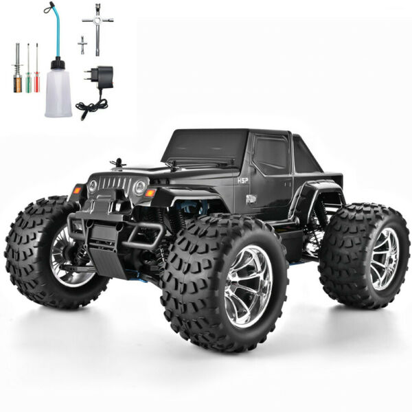 HSP RC Truck 1:10 Nitro Power High Speed RC Car 4wd Off Road Monster Truck a2 $229.99