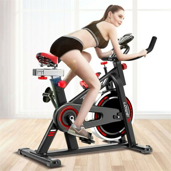 Indoor Exercise Bike Stationary Cycling Bicycle Cardio Fitness Workout $176.99