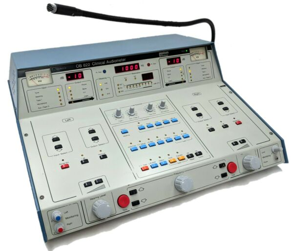 Madsen Electronics OB 822 Clinical Audiometer Audiology Hearing Test Analyzer