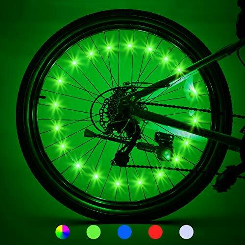 Bike Wheel Lights 2 Tires Bicycle Accessories for Cool Beach Cruisers Road Mo... $17.68