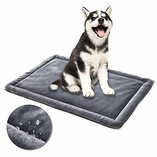 Allisandro Water Proof Dog Bed Washable Mat Crate Pad Durable Pet Beds Soft D... $39.20