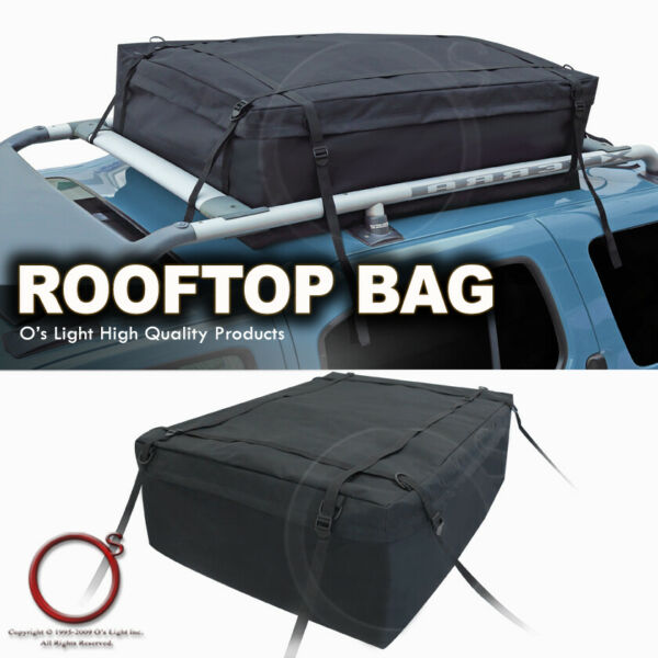Rooftop Rack Travel Storage Rear Trunk Cargo Bag Luggage Carrier Fit Lincoln $31.61