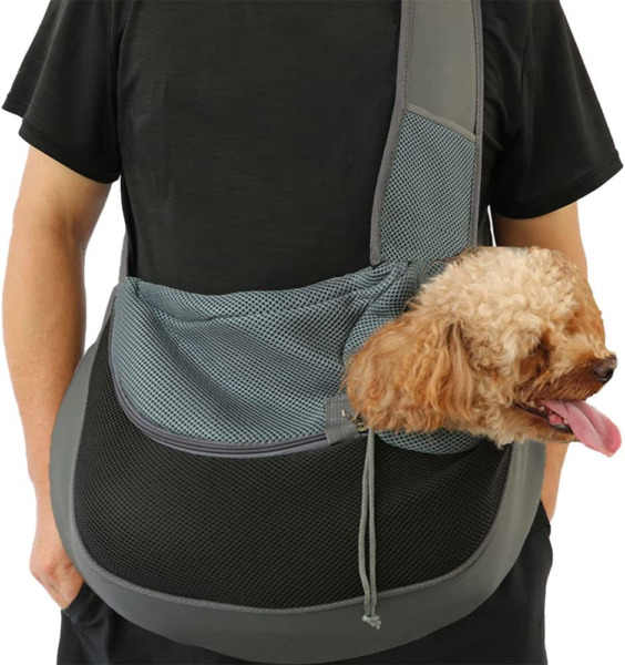 IFELISS Dog Carriers for Small Dogs Breathable Mesh Travel Safe Large Black $34.09