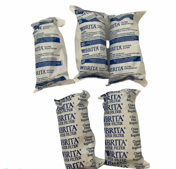 Replacement Filters BRITA Pitcher 5 Individually Sealed New