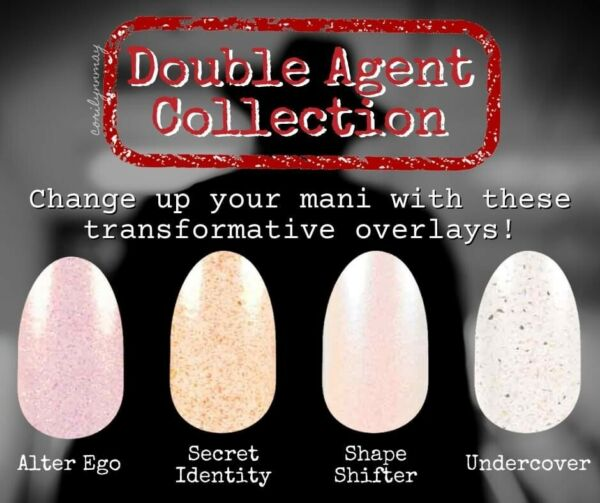 DOUBLE AGENT COLLECTION COLOR STREET 2021 100% REAL NAIL POLISH PRE ORDER