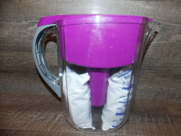 Brita Everyday Water Filter Pitcher # 0B36 with 2 Filters Berry Large 10 Cup