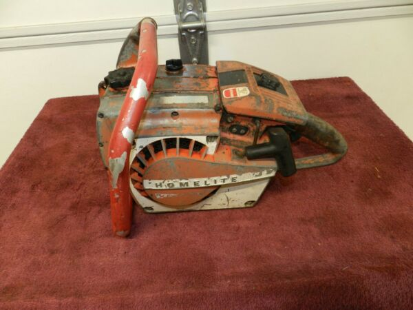 VINTAGE COLLECTIBLE HOMELITE CHAINSAW $249.99