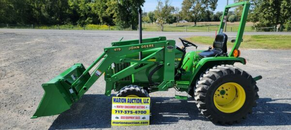 2003 John Deere 790 Compact Loader Tractor. Only 87 Hours Very Sharp Tractor $19975.00