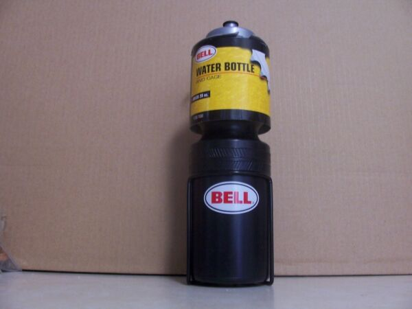 NOS Bell Water Bottle and Cage 28 oz. Cycling Bicycle Bike Riding Racing $7.99