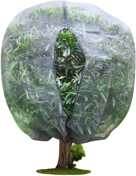 Garden Plant Cover Plant Protection Netting Bags with Zipper Fruit Tree Netting
