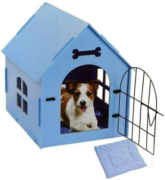 Pet Store Wood Dog House with Mat $69.99