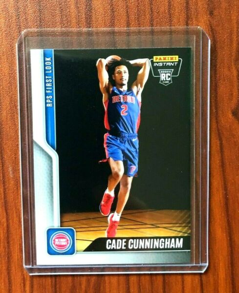 2021 NBA Panini Instant CADE CUNNINGHAM #1 Rookie Card RC RPS First Look 2737 $19.95