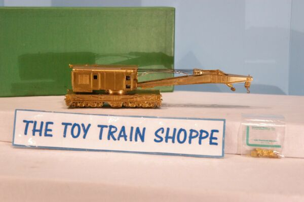 OVERLAND MODELS OMI 1334 200 TON BRASS CRANE. HO SCALE. NEW IN BOX. $424.99