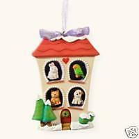 Hallmark 2008 ornament Home is Where the Pets Are dog $10.99