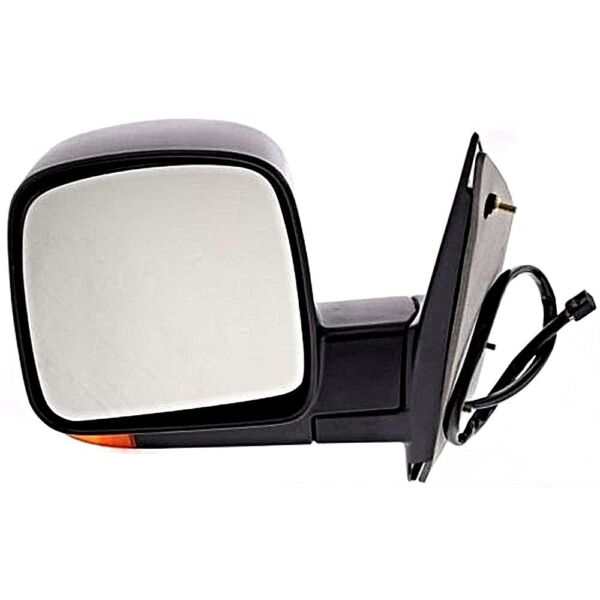 Fits 03-07 Chev Express GMC Savana Left Driver Pwr Mirror Heat, Signal, Man Fold