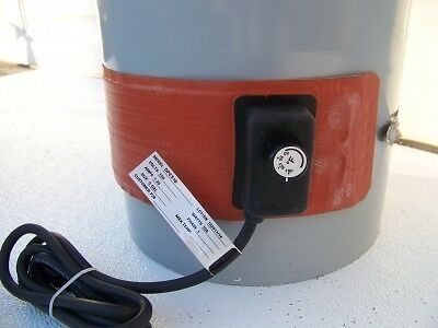 Briskheat Drum Heater Poly 5 Gal. Heavy Duty 150 Watt WVO_BIODIESEL