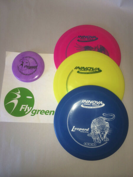 FRISBEE DISC GOLF NEW INNOVA BUILD CUSTOMIZE YOUR OWN 3 PACK SET MINI DX GRADE