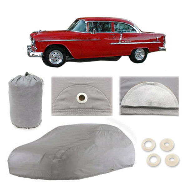 Chevy Bel Air Sedan 5 Layer Car Cover Outdoor Water Proof Rain Snow Sun Dust