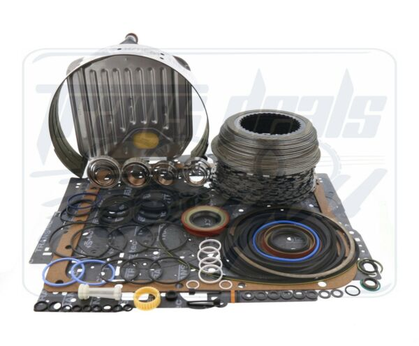 GM 700R4 4L60 Transmission Powerpack Deluxe Rebuild Kit 1987-93 W/ Filter, Band