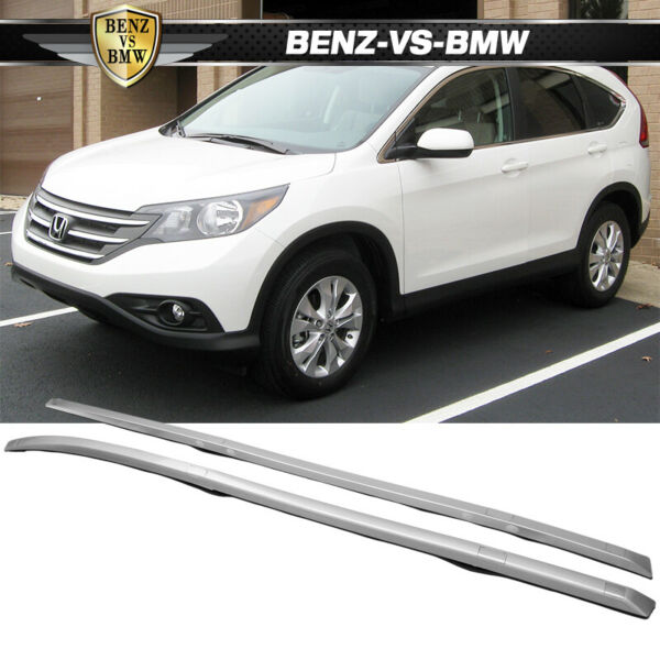 Fits 2012 2016 Honda CRV Roof Rack Rail Bar Silver OE FACTORY Style CR V $78.84