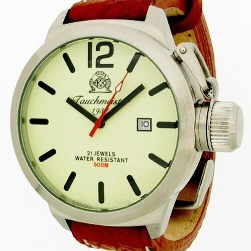 Luminous U-Boot DATE Automatic crown protection T0012