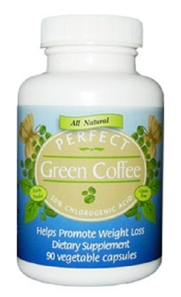 Lot of 3 PERFECT Green Coffee 100% Pure Green Coffee Bean Extract 270 Capsules