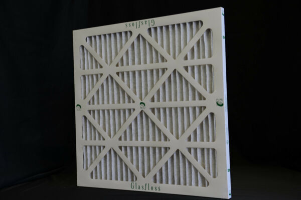 12 GLASFLOSS MERV 8 ZLP ZL HOME FURNACE AC PLEATED AIR FILTERS ALLERGEN REDU