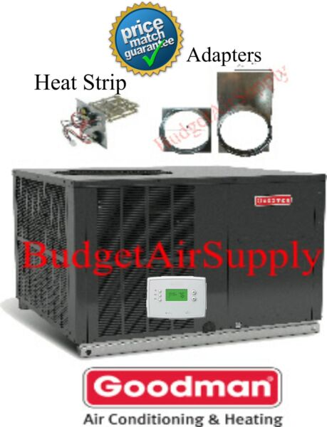 3 Ton 14 seer Goodman A C Electric Heatquot;All in One Packagequot;Unit GPC1436H41Heat $2326.00