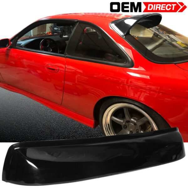 Fit For 95-98 Nissan 240Sx S14 Sun Roof Top Rear Window Visor Vent Shield