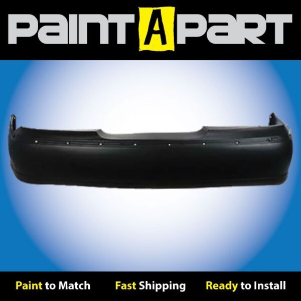 1998 1999 2000 2001 2002 Lincoln Town Car Rear Bumper Cover (PREMIUM) Painted
