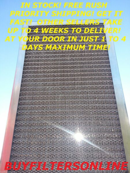 AIR FILTER WASHABLE ELECTROSTATIC PERMANENT LASTS FOREVER 6 STAGE FURNACE OR AC