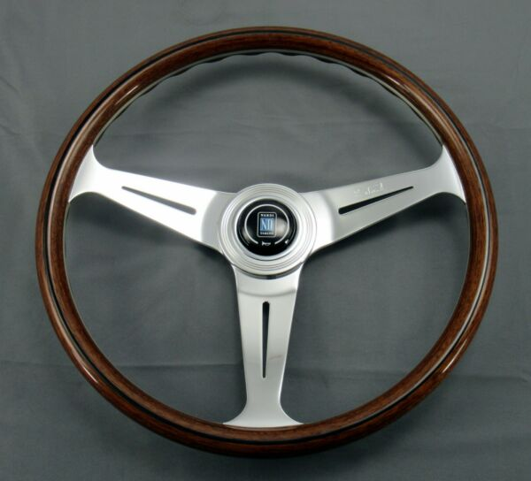 Nardi Steering Wheel Classic Wood Polished 390 mm New 5061.39.3000 Made in Italy $410.29