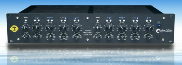 Great River MAQ-2NV Stereo Mastering EQ Extended High & Low Frequency Pts - New!