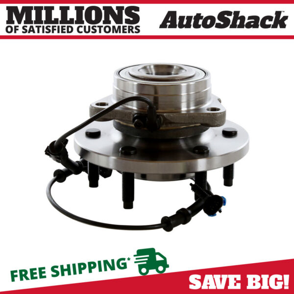 Front Wheel Hub Bearing Assembly 6 Stud For 06-2007 2008 Hummer H3 Sport Utility