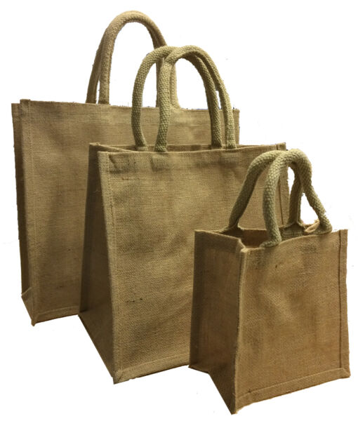 Jute Bags - Hessian Crafting Gift Supply 10x 25x 50x 100x 500x Wholesale