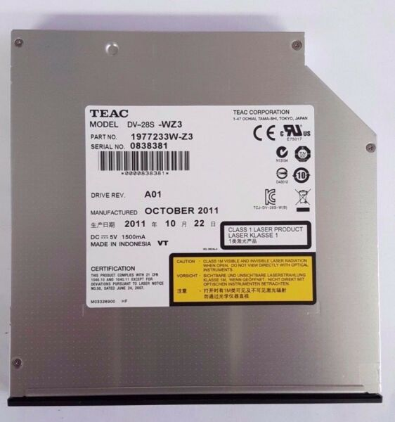 New Dell Optiplex GX 3010, 3020 Desktop DVD ROM SATA 12.7mm