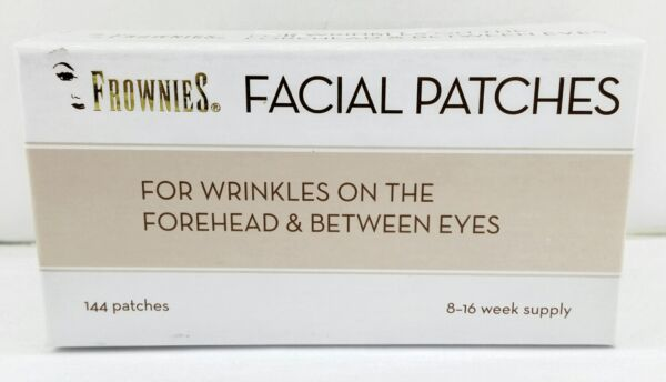 ORIGINAL FROWNIES - FOREHEAD AND BETWEEN EYES 144CT. FACIAL PATCHES