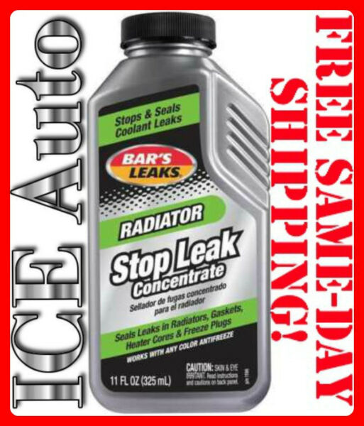 3-DAY SALE!! BAR'S LEAKS 1196 Radiator Stop Leak - Concentrated 11 oz Bars Leak