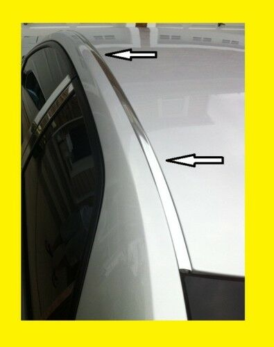For 2004 2008 NISSAN MAXIMA CHROME ROOF TOP CHANNEL TRIM MOLDING KIT $39.99