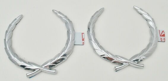 SET OF 2!! BRAND NEW!! CHROME!! Cadillac