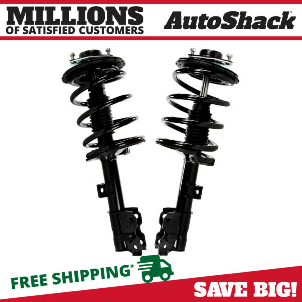 Front Pair (2) Complete Struts Assembly wcoil springs Fits 03-07 Nissan Murano