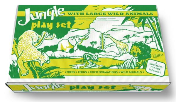 Marx Jungle with Large Wild Animals Play Set Box $69.99