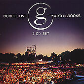 Garth Brooks : Double Live Country 2 Discs CD