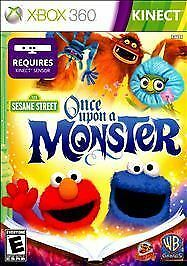 Sesame Street: Once Upon a Monster for Xbox 360 XBOX 360 Children#x27;s Educational $5.55